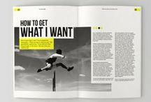Editorial Design / Magazine and Newspaper Design / by J. Alejandro Martínez