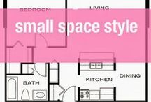 Small Space Style / Ideas for condos and apartments.
