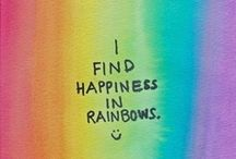Eating butterflies 'n pooping rainbows... / {Colorful} Things that make me ::smile:: !!!