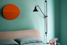 Aqua and turquoise walls / walls, aqua, turquoise, home decor, interior desing, color, calming, bedroom, kitchen, living room, google / by Tanja Heikkilä