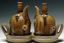 Ceramics: Bottles and Ewers