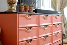 refinishing furniture / by Sharon Lowery