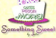 """Something Sweet"" / by Julie, who plays with sugar, and enjoys making Something Sweet, as often as she can. You can find me on the very new blog @ http://something-sweet-by-julie.blogspot.com/  or on facebook @ Something-Sweet/791629894249916, where I share lots of yummy dessert recipes, party ideas, and pretty pictures of Something Sweet! / by Inspired By..."