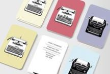 MOO Business Cards / Business cards should be a conversation starter - something to be kept and acted on. Don't let your cards let you down when it's so easy to make something great! Choose from these designs or upload your own artwork. / by MOO
