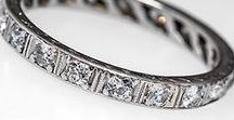 Antique & Vintage Wedding Bands / These lovely wedding band rings from times past make an excellent compliment to an vintage or antique engagement ring.