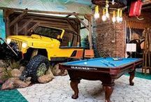 Man Cave Design / by Kel Wallace
