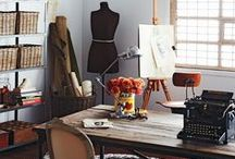 WORK: Studio & Office / at home, or not / by Inspired By