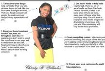 www.christyrwilliams.com / Build Better Businesses. Tips on: 1. Blogging                                                   2. Social Media                                                   3. Mindset and more / by Christy R. Williams