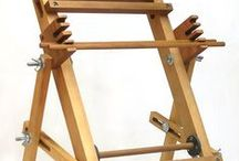 Weaving - Strings & RH / Looms on tables, or stands, using lift plans, with up to 4 shafts.  / by Inspired By...
