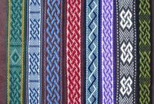 Weaving - BeltsTrimStraps / patterns for narrow weaving... i.e. tape, band, inkle, etc. / by Inspired By...