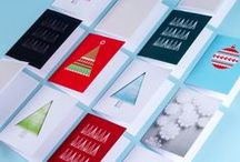 Holiday Greeting Cards by MOO / The holidays are filled with cards from family and friends. Make yours extra special with some of these ideas, and MOO designs too! / by MOO