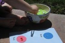 Kids: Sensory Play / Sensory play ideas are great for really young kids to help them explore the world.
