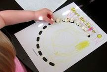 Kids: Fine Motor Activities / Fine motor activities for young kids.