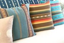 territory: pillows / handmade pillows we have now or currently have had for sale. Lots of mudcloth pillows, hand dyed pillows, Southwestern and bohemian styles.