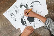Smartwatch Sketches / Design sketches - Designové skicy