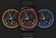 Smartwatch Faces / Watch faces - Ciferníky