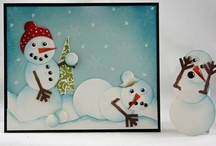 CHRISTMAS CARDS / by Kim Paquette