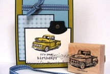 MASCULINE CARDS / by Kim Paquette