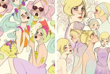 Illustration: Drawings, paintings, etc. / Illustration inspiration