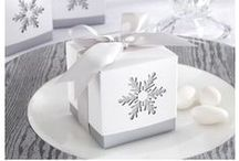 """Winter Inspired Favors / Bring a """"Winter Wonderland"""" vibe to your party with our gorgeous winter themed favors and gifts!"""