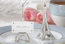 Parisian Bridal Shower / Inspiration for a Parisian bridal shower with plenty of elegant and French Flair!