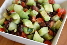 Healthier Salads, Dressings, & Dips / by Lisa Zocchi