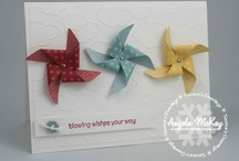 PINWHEELS CARDS / by Kim Paquette