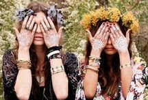 Boho // Coachella Style / For the hippie spirit in us all and a little music festival outfit inspiration.  / by Alicia Fashionista