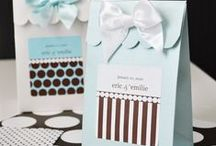 Personalized Favors / The beauty of our favors is that you can create your own!. Choose the text, design, and colors and your favor will make a  big impact!