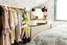 closet & storage ideas / by Susan Lowery