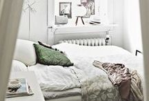 bedrooms / by Susan Lowery