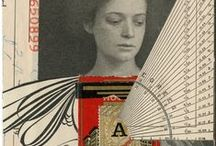 Design Inspiration: Collage / collage and mixed media inspiration.