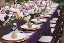 Fall Wedding Inspiration / Fall is so breathtaking with all the rich, warm colors, nature displays it's colorful beauty. Get inspired by all the beautiful changes for your Big Day!