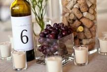 Wine Wedding / Perfect party planning for the Wine Loving Couple!