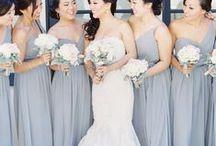 Blue & Gray Elegant Winter Wedding / Elegant Color Scheme for a perfect Winter Wedding!