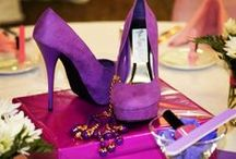 The Perfect  Pair (of shoes, that is) Bridal Shower / Wear your favorite shoes to this bridal shower or girls night out party and celebrate with our shoe favors and ideas.