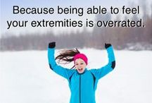 Winter Running Tips / Running tips for running in the cold. Whether you live in a cold climate, or you're just running in winter, these tips and tricks will help you stay warm, stay safe and keep your training going outdoors as long as possible. You don't need to turn to the treadmill to keep your fitness up just because the temperatures drop!