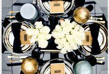"""He """"Popped"""" the Question Black & Gold  Bridal Shower / We love getting creative with Bridal Shower themes! Honor his proposal by applying a little twist the """"Popping"""" of the question! Elegant Colors like Black & Gold make this bridal shower super chic and unforgettable."""