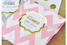 """Twinkle Twinkle Little Star Baby Shower / We LOVE This Baby Shower Theme! This timeless nursery rhyme inspires cute and whimsical decor that is both sweet and gender neutral so your baby will be the """"Star"""" of the Day!"""