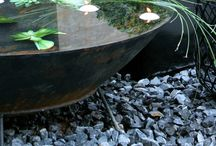 water feature/ pond for a terrace