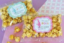 """Ready to """"Pop"""" Baby Shower / We love creative themed parties, which is why the Mommy is ready to POP"""" theme is so much fun! This is a colorful, creative, and gender neutral baby shower idea for any mommy to be. Find inspiration for your shower with games, decor, favors, and more!"""