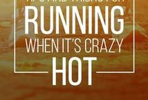 Summer Running Tips / Whether you're training in the summer for a fall marathon or other race, or you live somewhere warm year round, running in heat and humidity can be tough. Check out these tips and advice for running well in the heat. There are summer running gear guides, tips on maintaining speed and adjusting for humidity.