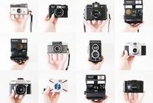 Camera action / I love photography - both film and digital - and have more than my fair share of cameras, too. I've reined myself in from buying any more but it doesn't stop me from pinning!