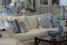 Blue and White / All things blue and white / by No Minimalist Here