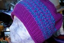 1000 Hat Project / I'm knitting and crocheting 1000 hats for Autism Awareness in honor of my son.