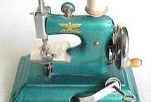 Vintage sewing machines