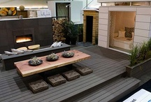 Outdoor Rooms / Creating a space for your outside space is just as important as your inside space!
