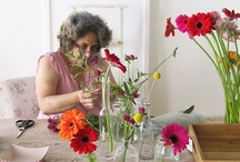 Florists at Work / Behind every flower arrangement is a very hard working floral designer. We love to share the story of these floral designers on Flirty Fleurs Flower Blog.