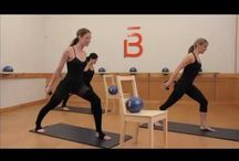 work out / Work out fitness barre exercise