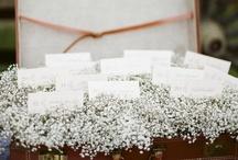 WEDDINGS - Escort Card Displays